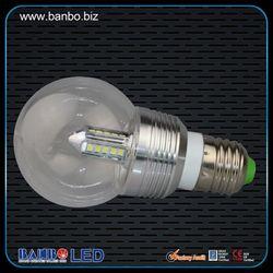 360 degree LED factory 3/5/7/9w cob led lens