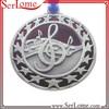 Custom Music Notes Medal