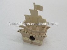 wooden model crafts ship