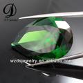 grado aaa de forma de pera esmeralda preciosa de piedra
