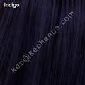 melhor indigo cor para a coloração do cabelo