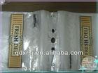 LDPE plastic saddle packaging bag/shopping bag