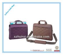2014 new style portable shoulder laptop bag for women