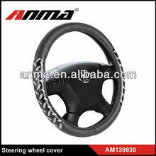 steering wheel cover/ silicone steering wheel cover/polyester steering wheel cover