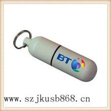 Best design good quality usb flash memory drive metal bottle