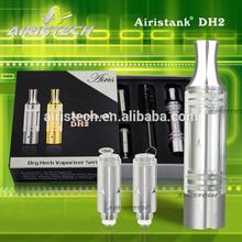 Thickness Pyrex glass DH2 atomizer wax and dry herb vaporizer pen titanium heating coil dry herb vaporizer pen