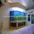 50mm a 300mm personalizado grande aquário acrílico