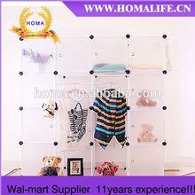 Cheap Plastic DIY walmart wardrobe HMY4-4