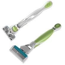 4 removable shaving blade razor for men-system razor