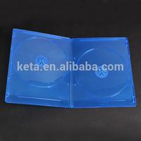 Premium Quality 7mm Double DVD Discs Slim Blu Ray Case