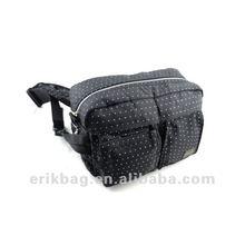 600D Black Hip Bag