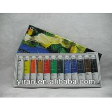 12 Fine Colours Paint Set with Tubes