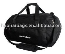 black color sport gym travel bag