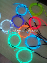 9ft Neon Glowing multi color el wire el flashing wire cheap electrical wire
