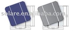 high efficiency 125*125mm Monocrystalline silicon solar cell