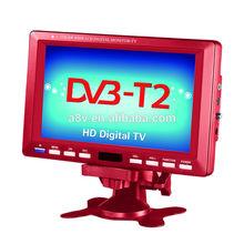 120-150Km/h 12V DC Built-in digital tunner DVB-T2 TV,FM,USB SD AV-IN/OUT(DA-703C)