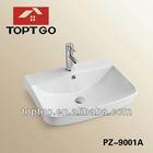 Design wash basin counter designs PZ-9001A