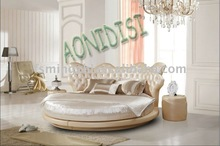 New designed round bed on sale 1130