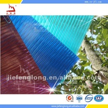 building materials polycarbonate crystal frosted hollow sheet