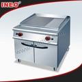Restaurante de cozinha comercial açoinoxidável flat plate chapa de gás( ineo especializados em cozinha do projeto)