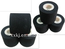 BLACK FINERAY XF & XJ type Black XJ--35mm*15mm Touch dry ink roller for ink roller coder to print EXP-date