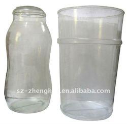 PVC Clear Custom Made Fruit Plastic Beverage Bottle in Food Grade