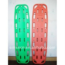 Plastic pediatric backboard