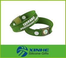 2014 Popular power silicone bracelet for sports