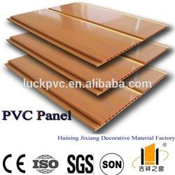 Wooden Grain Modern Ceiling Design for Interior Decorations