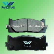 Nissan car DAIHATSU&TOYOTA application brake pad