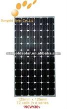 300 watt solar panel price black colour BOSCH Qcell solar cells