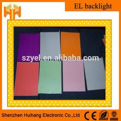 High Bright EL Sheet, EL Backlit, EL Panel Wholesale Factory