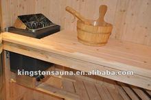 3 people Dry Sauna room/Sauna house with sauna heater