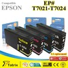 Printer Consumables Compatible Black/Color Inkjet Ink Cartridge for Epson T7021/2/3/4