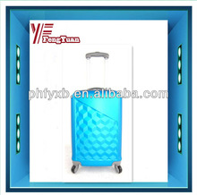 2014 china alibaba water cube travel luggage colourful travel trolley/ luggage bag/sky travel luggage bag