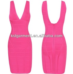 2013 hot selling green shinning bandage dresses