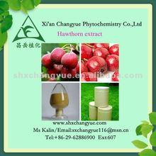 Natural vasodilators hawthorn leaf etract (2% vitexin rhamnoside)