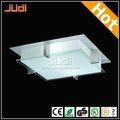 venta caliente de cristal moderna lámpara de techo