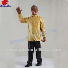 High Quality South Africa President Nelson Mandela Resin Sculpture