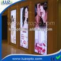 Telaio in alluminio pubblicità, muro visualizzazione poster in grande formato