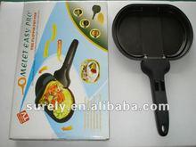 Aluminum die casting non-stick omelet pan