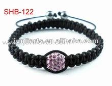 New fashion magic shamballa disco ball,shamballa beads bracelets wholesale