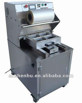 semi-automatic vertical vacuum tray sealer