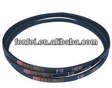 raw edge v belt