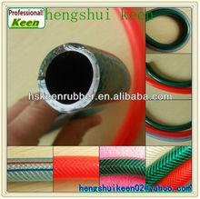 No smell,Transparent Watering and Irrigation Fibre Reinforced PVC Garden Hose