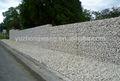 Soldado gaviones caja/cesta de gaviones/la jaula de piedra