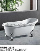 High quality arcylic bathtub C534