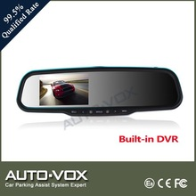 1080p LCD screen car dvr rearview mirrors car rear view monitor