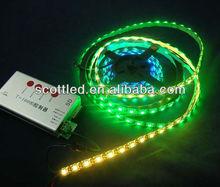 rgb magic dream color digital led strip dmx control ws2812b ws2811 strip lights