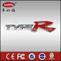 Cromado emblema emblema autocolante Car 3D logotipo decalque